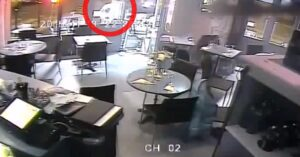 [VIDEO] Surveillance Video Of Paris Cafe Terrorist Attack Shows Gun Jamming While Trying To Execute Patron