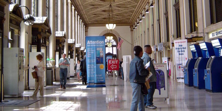 U S General Post Office New York City