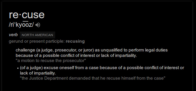 definition-of-recuse