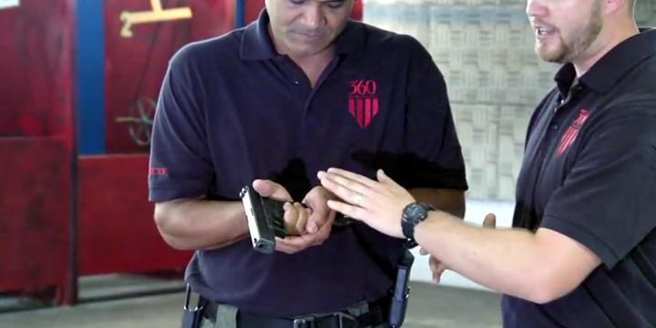 Hand to hand pistol combat