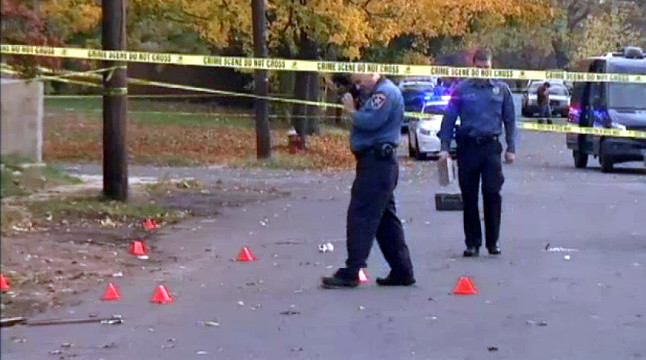 Little girl shot in gangland NJ