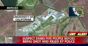 5 People Stabbed, Suspect Shot And Killed By Police On California Campus