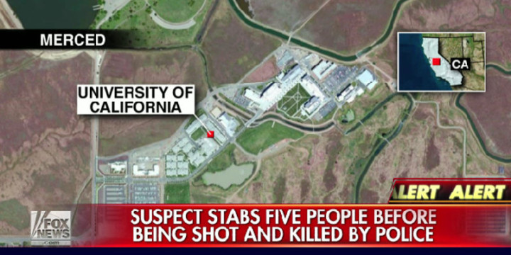 Stabbing university of california merced