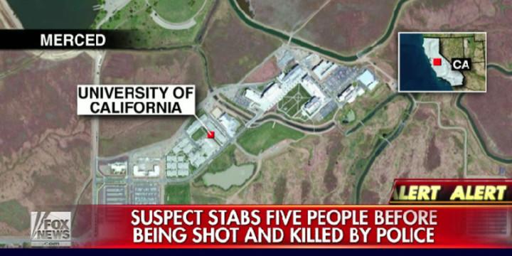 Stabbing university of california merced
