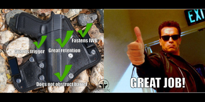 Stealth gear great iwb choice great job