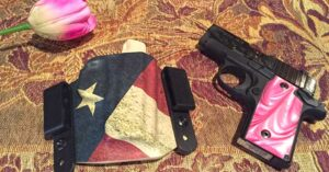 #DIGTHERIG – Diane and her Sig Sauer P238