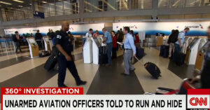 Sworn Law Enforcement Officers Unarmed And Trained To Run And Hide In The Event Of Active Shooter At Chicago Airports