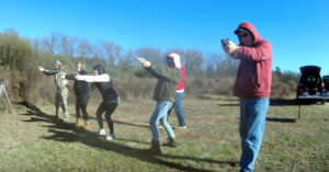 Beginner's Shooting Posture Versus Experienced — We All Look Awkward Starting Off, But What Have We Learned Since?