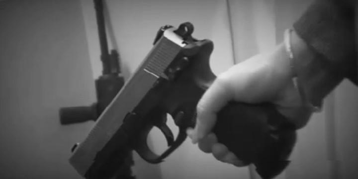 Cleveland woman fn 45 subdue burglar