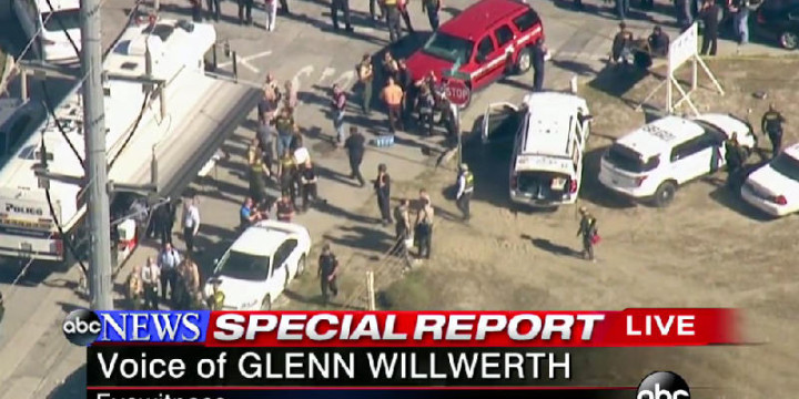 Employee lockdown mass shooting bernadino ca