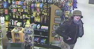 Gas Station Robber Brings His Knife To A Gunfight And Loses