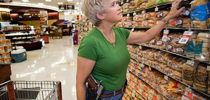 Open carry kroger courtesy