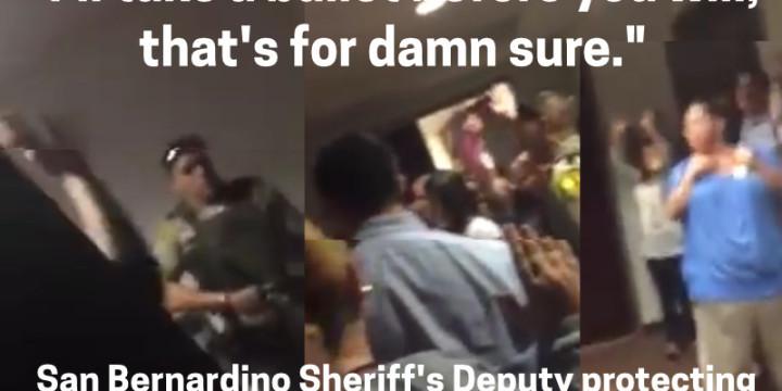 San bernardino deputy hero
