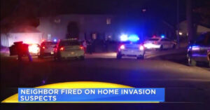 Neighbor To The Rescue! Fires On Home Invaders While Neighbor Sleeps