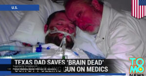 Dad Pulls Gun On Doctors That Want To Pull Plug On Son, Who Later Recovers