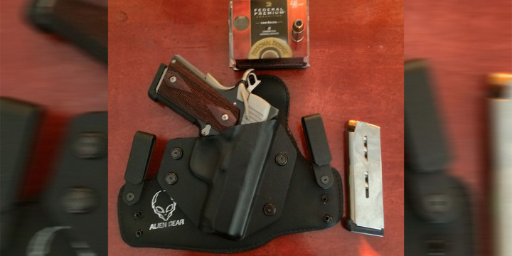 DIGTHERIG – Tom and his Kimber 1911 Ultra CDP 45ACP – Concealed Nation