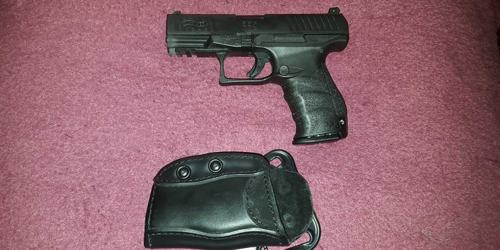 Walther PPQ M2 with Safariland Model 567