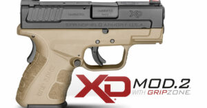 New From Springfield Armory: Three New XD® Mod.2 Sub-compact Pistols In Flat Dark Earth