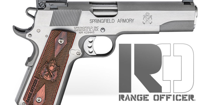 New From Springfield Armory: 1911 Range Officer Now Available In