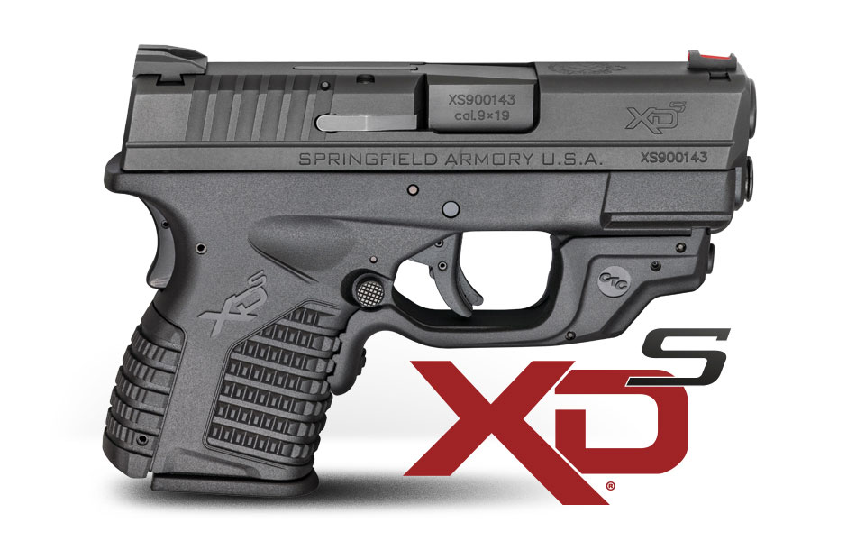 New From Springfield Armory Xd S Pistol With Crimson