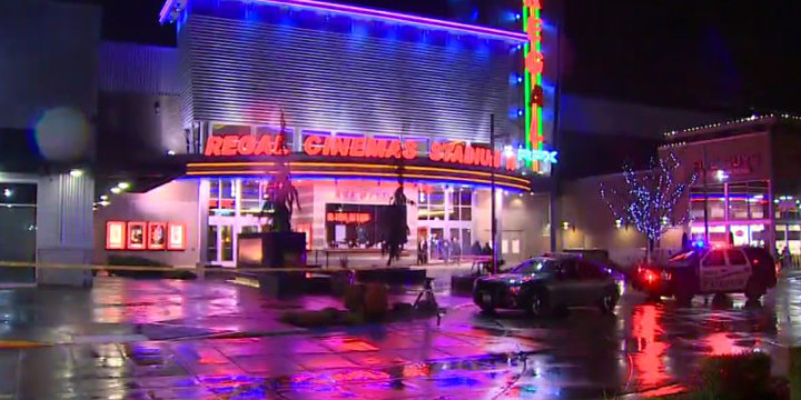 Drunk man shoots woman in theater surrenders