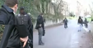 [VIDEO] Armed Frenchman Has Concealed Firearm Ready To Fend Off Large Group Of Thugs