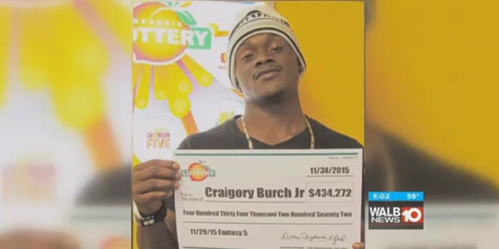 Lottery winner wins another lottery death