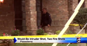 Mother And Son Duo Fire On Home Intruder, Who Is Now Spending His Days In A Coma
