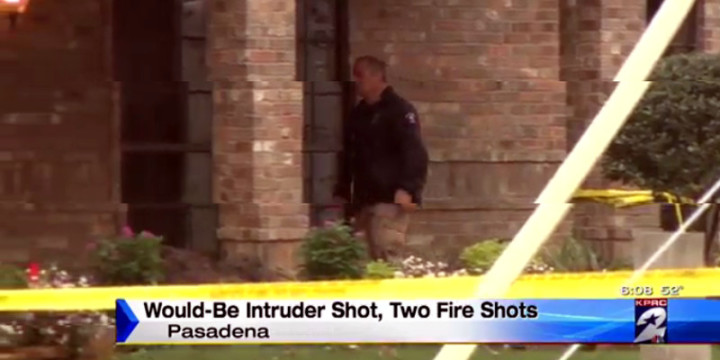 Pasadena tx 1 intruder shot attempted home invasion