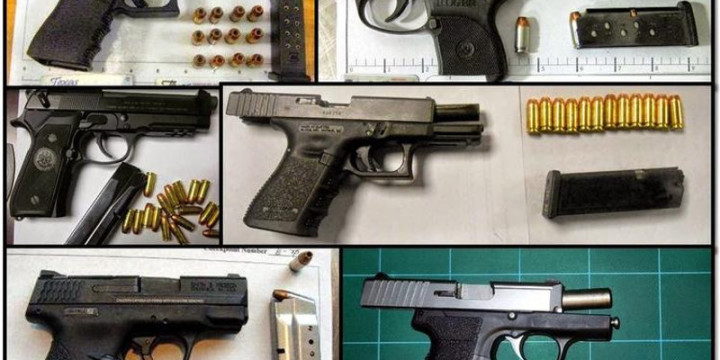 Tsa recovers 20 pct more guns 2015