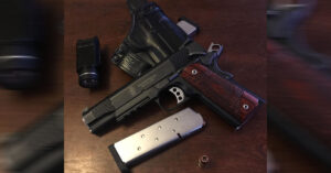 #DIGTHERIG – Ryder and his S&W 1911TA