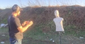 VIDEO: Can You Shoot Three Shots On Target In Under One Second? This Guy Can…