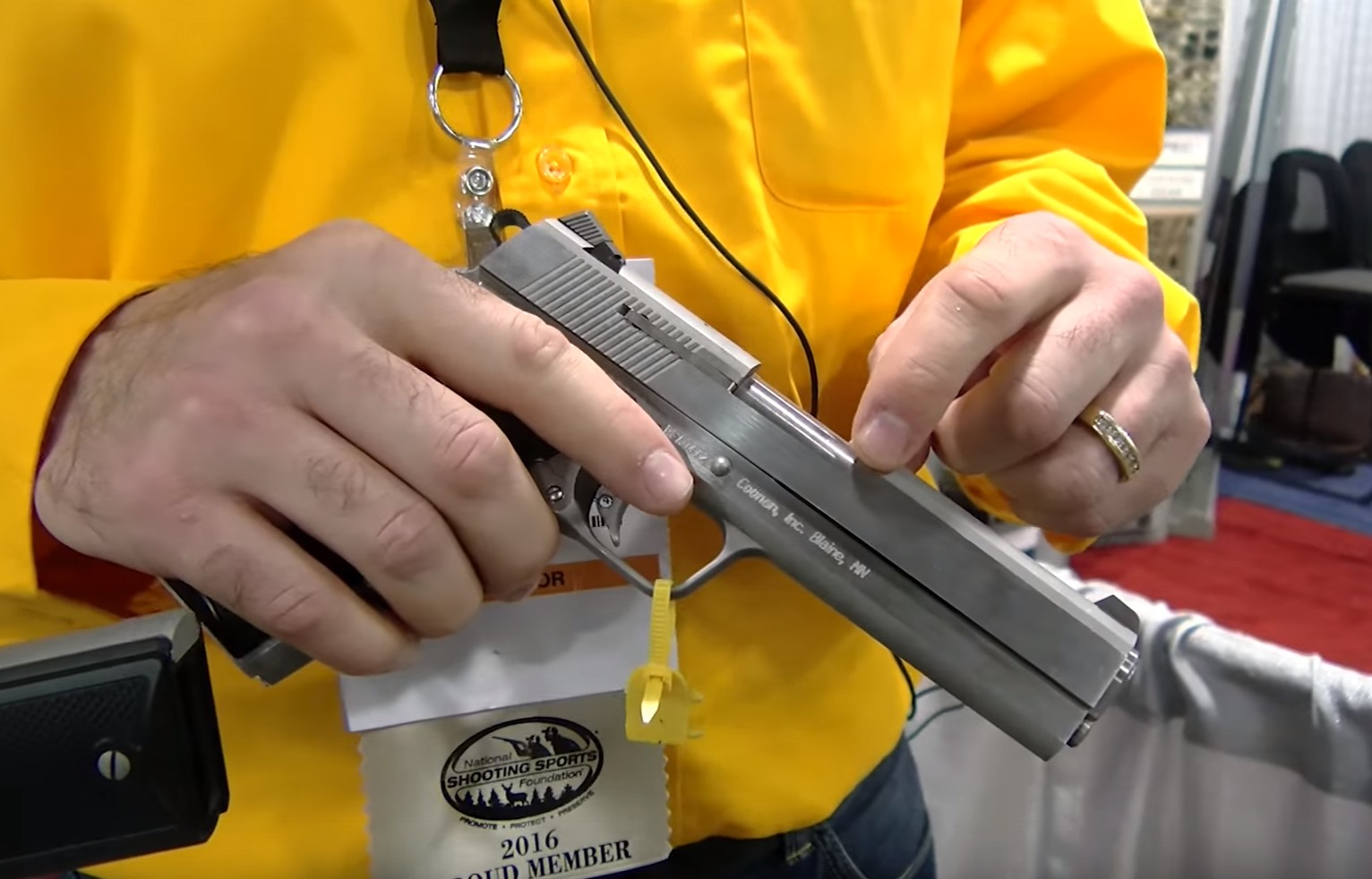 VIDEO] We Visit Coonan Firearms At SHOT Show: If You're A