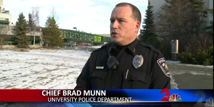 Police chief mun u of alaska