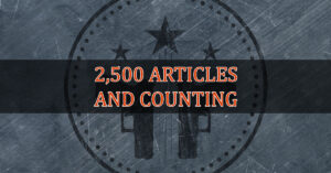 2,500 Articles Later, We Thank You Again For Letting Us Do What We Do