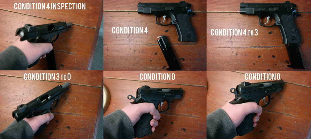 CZ 75 PCR Condition 4 to 0