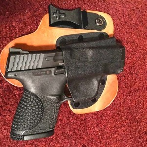 ... his S&W M&P Shield 9mm in a Homemade IWB Holster – Concealed Nation