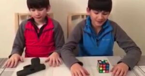 [VIDEO] Firearm Take Down Vs Rubix Cube: Parenting Done Right