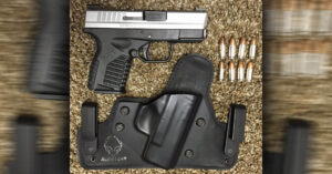 #DIGTHERIG – Tommy and his Springfield XDs 3.3″ in 9mm