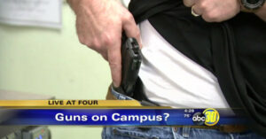 Proposed School District Policy Would Allow 5 Armed Faculty Members On Campus