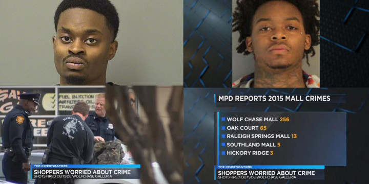 Nig nog brit bong memphis mall shoplifting attempted carjacking