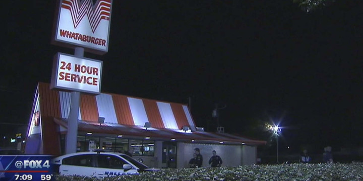 Whataburger attempted robbery