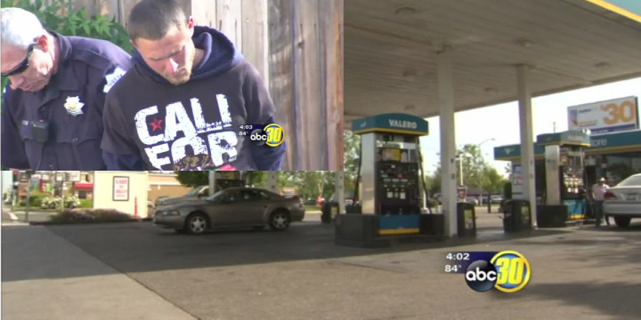 California concealed carrier stops potential robber