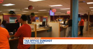 Bullet Flies Through Tax Collectors Office Due To Negligent Employee