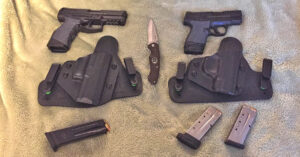 #DIGTHERIG – Andrew and his HK VP9 and S&W M&P Shield 9mm