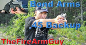 [FIREARM REVIEW] Bond Arms Backup .45acp – Ultimate Concealed Carry Derringer