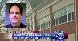 Newtown Middle School Teacher Arrested For Carrying Concealed Firearm At School