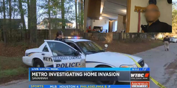 Savannah man defends home after waking up to intruders
