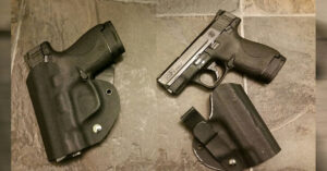 #DIGTHERIG – Aaron and his S&W M&P Shield 9mm in a Homemade IWB Holster