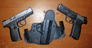 #DIGTHERIG – David and his S&W SD9VE or a Ruger SR45 in an Alien Gear Holster